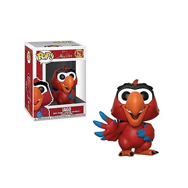 Funko- Pop Vinyl: Disney: Aladdin: Iago Figura de Vinilo, Multicolor, talla única (35756) , color/modelo surtido 2