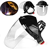 Welding helmet welding mask Face Shield 240x210mm Welding Visor Anti-UV Welding Grinding Helmet Face Eye Protection Shield Solder Mask By KALLAR