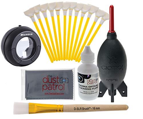 The Dust Patrol Digitalkamera Profi Reinigungsset für Kameras mit Vollformatsensoren