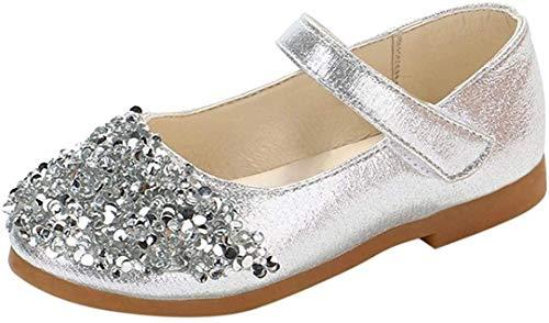 Zapatos De Princesa De Moda Zapatos Bebe,ZARLLE 2018 Zapatos De NiñA Verano Lentejuelas De Diamantes De ImitacióN Dance Nubuck PU Zapatos De Cuero Individuales