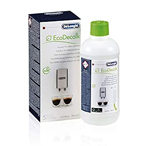 De'longhi Ecodecalk – Líquido descalcificador universal, cafeteras superautomáticas, 500 ml, ecológico y eficiente, compatible cafeteras modelos ECAM / ETAM