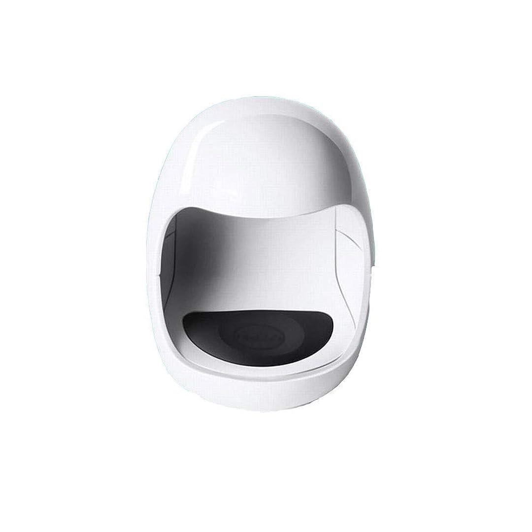 インフラメガロポリスマーキングYESONEEP ミニ光線療法機ミニシングルフィンガーネイルライトセラピーライトUSB日光LED速乾性ネイルオイルグルーベーキングランプ (色 : White)