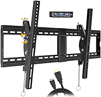 Juststone Tilting TV Wall Mount Bracket with 16-24 Inch Wood Studs