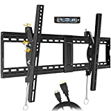 Tilting TV Wall Mount Bracket for Most 32-83Inch Flat Panel Large Screen VESA UP to 600x400mm and...