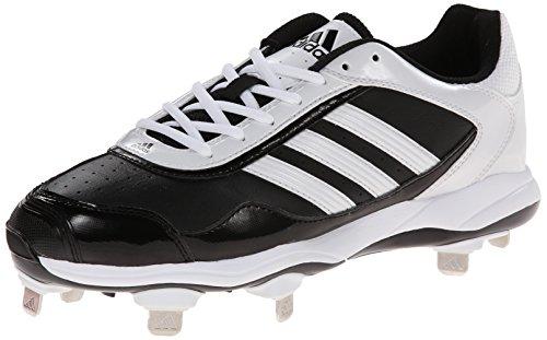 adidas Performance Women's Abbott Pro Metal 2 Softball Cleat, Core Black/Running White/Black 1, 10.5 M US