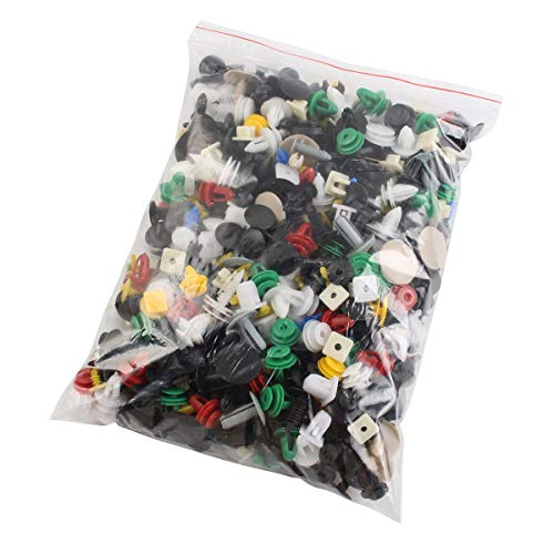 LC 30 Pieces in a Pack Nylon Back Garnish Trim Panel Push-Type Retainer Car Clips 18 x 8 x 6mm