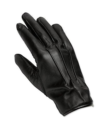 Alexandra AL-LAG1-11 Series AL-LAG1 lederen handschoen voor heren, effen maat 11, zwart