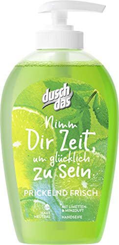Duschdas Flüssigseife Limette & Minze, 6er Pack (6x250 ml)