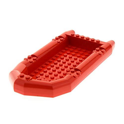 LEGO 1 x System Boot rot 21x10 Schlauchboot Ruderboot für Set 60068 7213 4571142 62812
