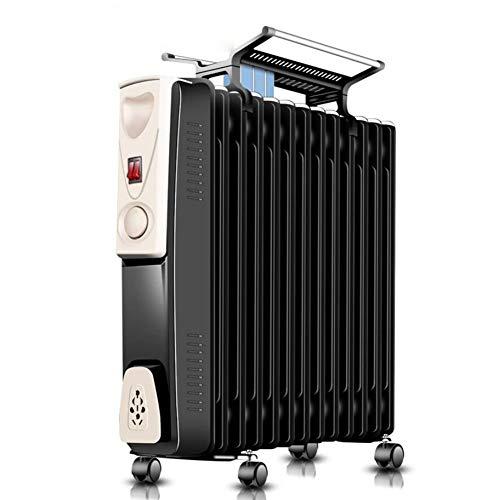 HKDJ elektrische radiator voor oliebad en dup power off, bescherming tegen oververhitting, snelheidsinstelling op 3 snelheden, geschikt voor koude winter