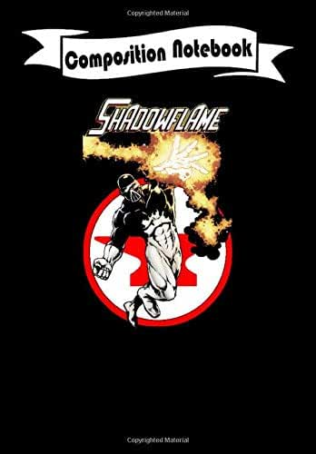 Composition Notebook: Shadowflame with Red Anvil Comics Logo - Comic, Journal 6 x 9, 100 Page Blank Lined Paperback Journal/Notebook