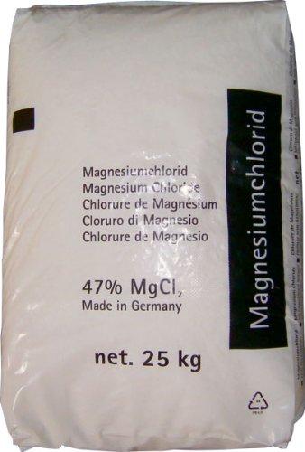 Vogelmann Chemie GmbH 25 kg Auftaugranulat Magnesiumchlorid, für Reithallen und -plätze, bis - 30 °C