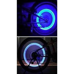 Luces Led para Válvula de Rueda de la Moto, Bici, Bicicleta, 2 Unidades 5904