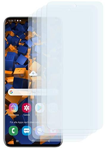 mumbi Schutzfolie kompatibel mit Samsung Galaxy S20 Folie klar, Displayschutzfolie (5X)