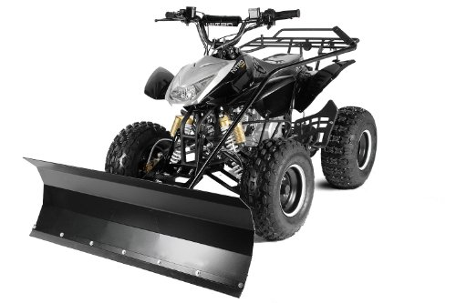 Quad ATV mit Schneeschieber Schneeschild 100cm Blau Jumper