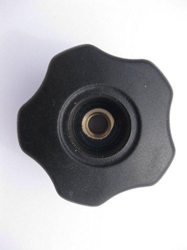 Soft Touch lobe Bouton 50 mm x M8 ouvert de serrage Scie perceuse Poignée à levier Camera Gym