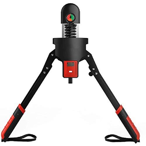 JHSHENGSHI Professioneller Power Twister Bar Einstellbarer Widerstand 0-200 kg Mit LCD-Monitor Kalorienzähler, Arm Unterarmtrainer Brustvergrößerung Für Muskelkrafttraining Armtrainer