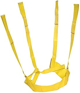 A.M. Leonard Nylon Self-Adjusting Tree Tote Plant Lift Sling - 20-36 Inches, Yellow