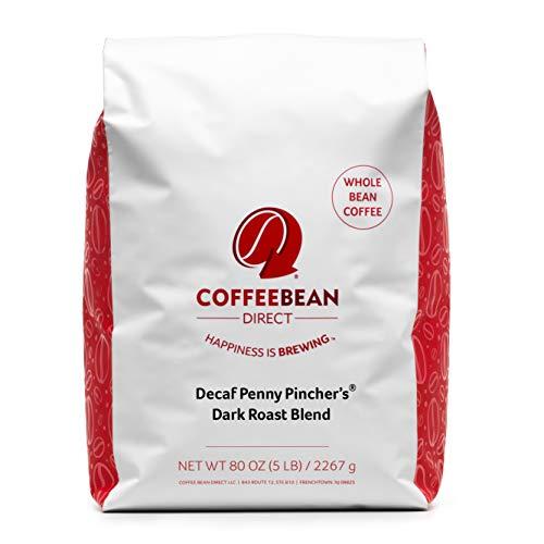 Coffee Bean Direct Decaf Dark Penny Pincher's Dark Roast