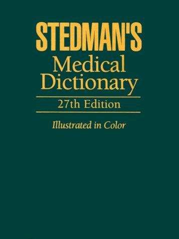 Best medical dictionary stedman for 2021