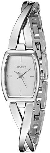 DKNY Reloj analogico para Mujer de Cuarzo con Correa en Acero Inoxidable NY2234