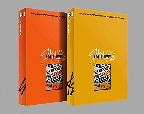 JYP Entertainment Stray Kids – In / Standard Edition (Vol.1 Repackage) Album + Vorbestellungsvorteil + gefaltetes Poster + extra Fotokarten-Set (A+B Ver).
