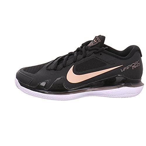 Nike Damen Court AIR Zoom Vapor PRO Sneaker, Schwarz Kombiniert, 40 EU