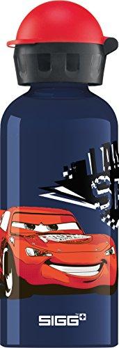 Sigg Kinder Cars Speed Trinkflasche, 0.4