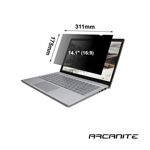 ARCANITE Privacy Screen Filter voor breedbeeld laptop monitor