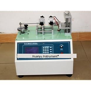 Huanyu Microcomputer Plug and Pull Force Tester Plug Life Tester Machine:Deepld