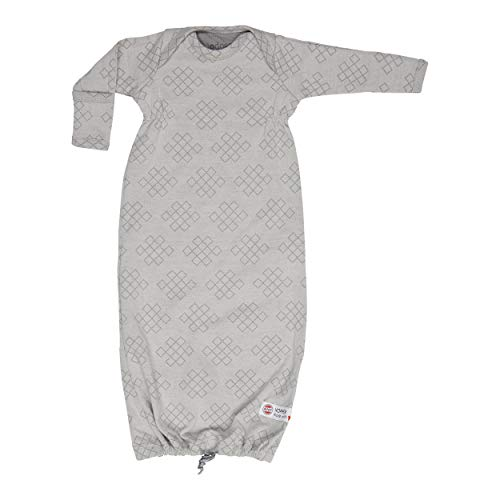 Lodger Unisex baby Hopper Newborn slaapzak, grijs (donkergrijs 078), Neugeboren (maat: New Born)