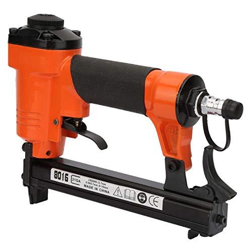 Pistola de clavo para carpintería, agarre cómodo, clavadoras neumáticas de aire, pistola neumática fuerte y resistente para incrustaciones de madera