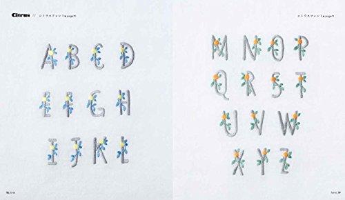 刺繍教室「Atelier アンナとラパン」を主宰する著者の川畑杏奈さん。annas(アンナス)というレーベル名で活動されている刺繍作家さんです。  本書では、ひらがなや数字、アルファベットなど、文字の刺繍にフォーカス!シンプルで可愛らしい文字がたっぷり収録されています。