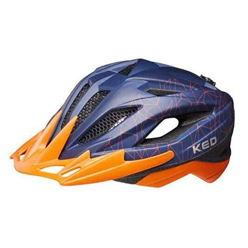 KED Street MIPS helm kinderen blauw/oranje 2020 fietshelm