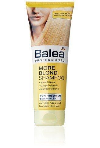 Champú Balea More Rubio para cabellos rubio – 250 ml