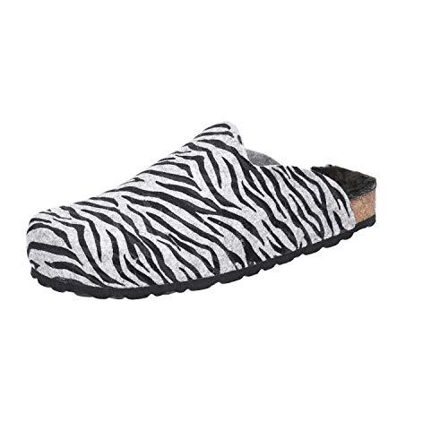 Ariston-Nord-West-Ring Longo Größe 38 EU Mehrfarbig (grau Zebra)