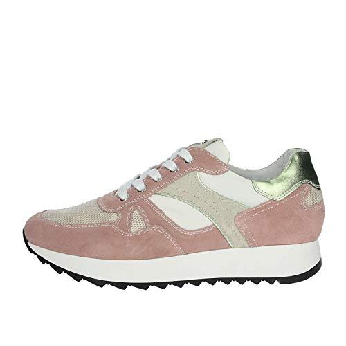 Nero Giardini P907740D/429 Sneakers Scarpe Donna Lacci Stringhe CAMOSCIO PEONIA (36 EU)