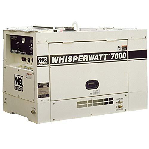 Multiquip DA7000SSA2GH Kubota Diesel Generator, Single Side Service, 7kW, 120/240V