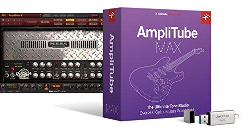 IK Multimedia AmpliTube MAX ギターサウンド・コレクション【国内正規品】