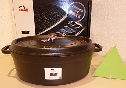 Staub 40506-370-0 STAUB Cocotte 37cm schwarz (1 Stück)