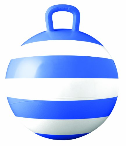 Hedstrom Blue Striped Hopper Ball, Kid