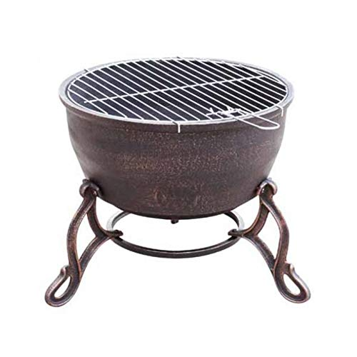 Gardeco Elidir Cast Iron Fire Bowl our best pick for the best fire pit