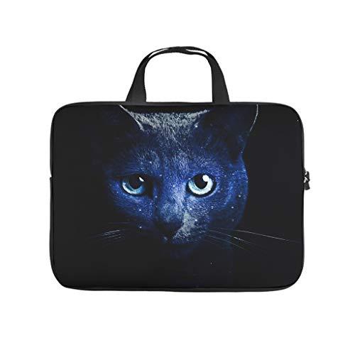 Facbalaign Funda para portátil con diseño de animales y gatos, de alta calidad, con asa