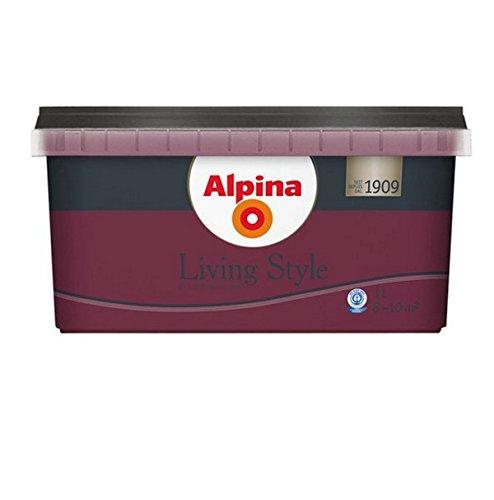 Alpina Living Style, 1 Liter, matt extraordinary purple - Baugleich Tiefer Traum