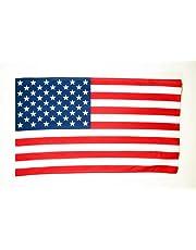 Verenigde Staten Vlag 90x60 cm - VS - Amerikaanse vlaggen 60 x 90 cm - Banner 2x3 ft Hoge kwaliteit - AZ FLAG