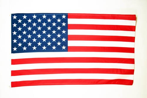 AZ FLAG Drapeau Etats-Unis 90x60cm - Drapeau américain - USA 60 x 90 cm Polyester léger