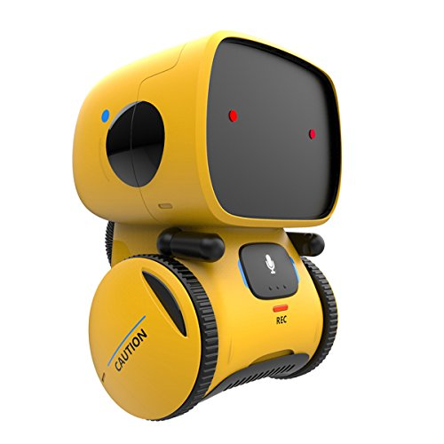REMOKING Robot Toy, Educational Stem Toys Robotics for Kids,Dance,Sing,Speak Like You,Recorder,Touch and...