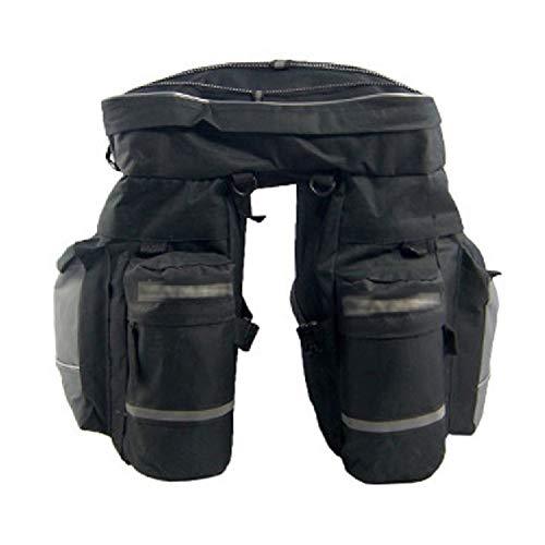 YHDQ Mountainbike Bag Drie In Een Fietstas Grote Capaciteit Waterdicht Lange Afstand Platte Bagage 39cm * 38cm * 43cm