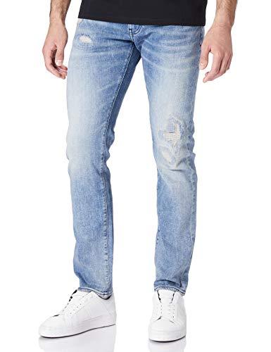 Armani Exchange Mens Indigo Denim Jeans, 34