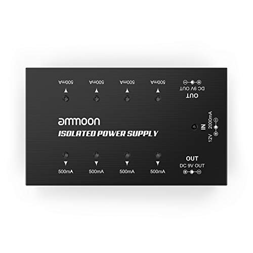 ammoon Guitar Effect Power Supply Compact Size Guitar Effect...